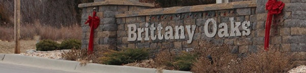 Brittany Oaks Entrance