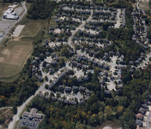 Brittany Oaks Aerial Photo